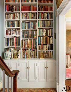 Fab built-in bookcases