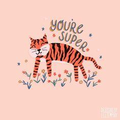 Tiger Art, Tigger, Disney Characters, Fictional Characters, Medium, Illustration, Instagram, Design, Decor
