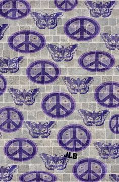 ☮/JLB Peace Sign Art, Peace Signs, Hippie Art, Hippie Chic, Pretty Wallpapers, Phone Wallpapers, Give Peace A Chance, Happy Hippie, Favorite Words