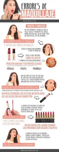 ERRORES DE MAQUILLAJE - Secretos De Chicas By Patry Jordan