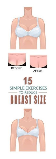 15 Most Effective Exercises To Reduce Breast Size.