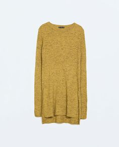 Image 6 of RIBBED SWEATER WITH SIDE SLITS from Zara