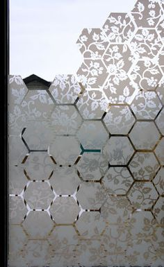 i d l e w i f e : diy: window film pattern