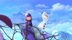 Sleigh Ride with Olaf | The Secret Library New On DVD