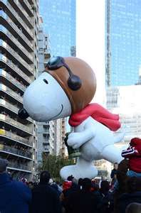 Snoopy in Macy's Thanksgiving Day Parade