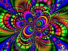 Rainbow Fractal - Bing Images