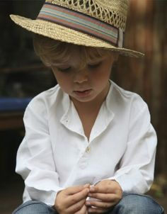 from french brand Les Toiles Blanches. this tunic is made from a century fine linen sheet. i can't get over the cute gentleman modeling ; Little Boy Swag, Little Boys, Lil Boy, Gerber Baby, Toddler Boy Fashion, Precious Children, Modern Kids, Stylish Kids, Kid Styles
