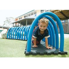 most up-to-date snap shots backyard playground ideas pool noodles tips me - backyard ideas family 2019 Kids Backyard Playground, Preschool Playground, Backyard For Kids, Backyard Games, Diy For Kids, Playground Ideas, Backyard Fort, Kids Outdoor Play, Outdoor Fun