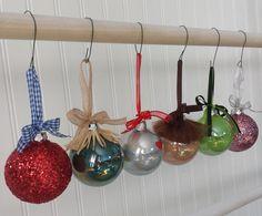 Wizard of Oz Ornaments Set of 4 by OddsNEndsbyAly on Etsy