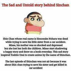 Kabhi socha nahi tha ki Shinchan rula dega