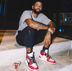 Kyrie Irving in the Off White x Air Jordan 1 Chicago is part of Kyrie irving shoes - Nike Air Jordan, Air Jordan Shoes, Jordan Sneakers, Jordan 1 High Og, Jordan Retro, White Jordans, Air Jordans, Retro Jordans, Nba Fashion