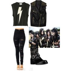 """""""Andy biersack"""" by andys-nobody on Polyvore"""