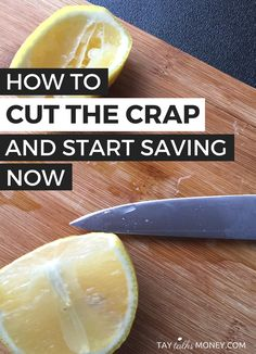 Need a little motivation? A kick butt approach to getting your butt in gear to cut costs so you can save more money. #saving #awesomeness