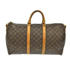Louis Vuitton Bandouliere Keepall 50 Travel Bag.