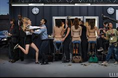 Nicolas Ghesquiere for Elle Feb 2015