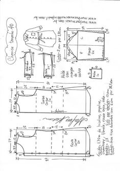 ideas diy ropa mujer fashion free pattern for 2019 Denim Bag Patterns, Dress Sewing Patterns, Sewing Patterns Free, Clothing Patterns, Free Pattern, Couture Sewing Techniques, Costura Diy, Pattern Draping, Tailoring Techniques