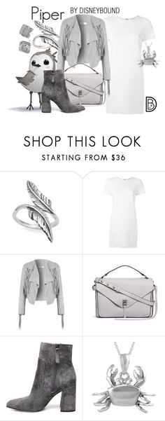 """Piper"" by leslieakay ❤ liked on Polyvore featuring Lizzy James, Helmut Lang, Rebecca Minkoff, Steve Madden, Journee Collection, Kate Spade, Oscars, disney, disneybound and disneycharacter"
