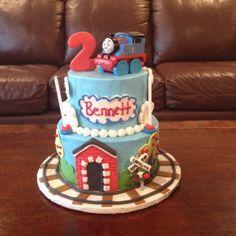 Thomas the Train birthday cake!!:)