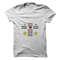 Prayer Warrior T Shirts, Hoodies, Sweatshirts. CHECK PRICE ==► https://www.sunfrog.com/Faith/Prayer-Warrior-63860757-Guys.html?41382