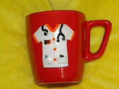ceramics Polymer Clay Projects, Cold Porcelain, Polymers, Mugs, Bella, Tableware, Glass, Handmade, Medical