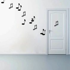 Music Note Kit Wall Decals Vinyl Art From Trendy Designs