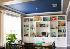 Build It - IKEA Besta Built-In Hack - learn how to turn IKEA pieces into this custom looking built in shelving for under $1000!