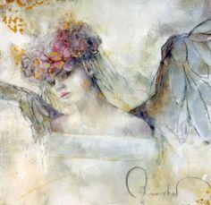 Beautiful paintings by German born artist Elvira Amrhein