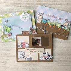 Jenn's Some Bunny Birthday Card!   Lawn Fawnatics