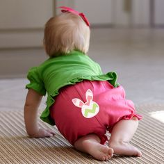 Baby Girls Hot Pink Bloomer – Lolly Wolly Doodle
