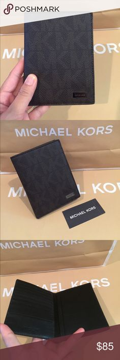 "🌴Michael Kors Jet Set Men's passport Card Holder 100% Authentic Michael Kors Jet Set Men's Passport Card Holder Brown🌸🌴   Dimensions: 4""L x 5.5""H x 1""D 1 passport slot, 1 business card holder (up to 3 cards), 7 credit card slots, 1 top full-length billfold compartment Michael Kors Bags Wallets"