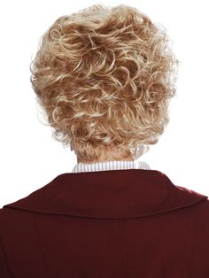 Short hair styles for blonde curly hair