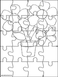 Printable jigsaw puzzles to cut out for kids Nature 30 Coloring Pages