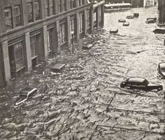 Providence, Rhode Island. The Great New England Hurricane of 1938.