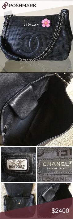 💯% Authentic Chanel CC Flap Bag🌸 Excellent condition. No box or dust bag. CHANEL Bags Shoulder Bags