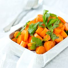 Moroccan Spiced Carrots - fragrant spices make it easy to eat your vegetables!