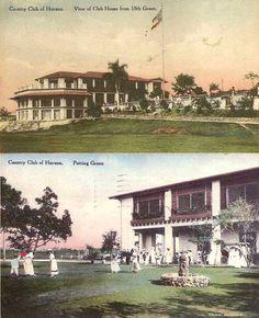Havana Biltmore Country Club, en 1917