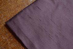 Prune Douppion Silk Interiors Fabric