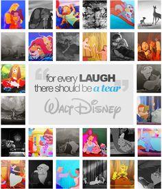 4 every laugh there should be a tear_Walt Disney Disney Movies To Watch, Disney Time, Old Disney, Disney Fun, Disney Magic, Disney Stuff, Disney And Dreamworks, Disney Pixar, Disney Buzzfeed