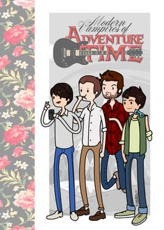 Vampire Weekend and Adventure Time crossover