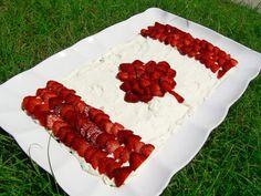 """Canada Flag """"cake"""""""
