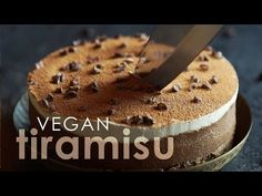 I decided to try out a classic -- a gluten-free vegan tiramisu, which of all the Italian desserts I tried I've missed the most. It came out Incredible! ...