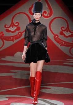 Ulyana Sergeenko couture Fall/Winter 2012-2013 - City Love Fashion