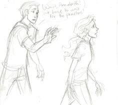 well percy as you can see Annabeth doesn't care what the praetors have to say