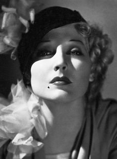 """American actress, Thelma Todd, appeared in about 120 films between 1926-1935. Known as """"The Ice Cream Blonde"""", she was an acknowledged comedienne."""
