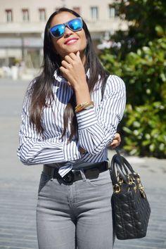 Love this Sumissura shirt! Designed by Italian Fashionista maysesmodamour