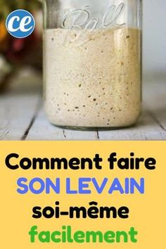Comment Faire Son Levain Soi-Même Facilement Et Rapidement. - Comment Faire Son Levain Soi-Même Facilement Et Rapidement. Cooking Tips, Cooking Recipes, Cooking Games, Vegetarian Pizza, Vegetarian Lifestyle, Vegetarian Recipes, Wie Macht Man, Tortillas, Crockpot Recipes
