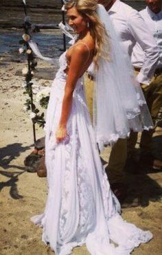 Boho wedding dress boho bride bohemian beauty beach bride Grace loves lace lace wedding dress www.graceloveslace.com, perfect!!!