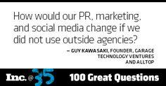 Day 72: Guy Kawasaki, founder, Garage Technology Ventures and Alltop