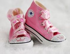 50 trendy baby shoes diy bling little girls Bedazzled Converse, Cheap Converse, Converse Shoes, Baby Converse, Cute Girl Shoes, Girls Shoes, Baby Shoes, Star Shoes, Baby Girls