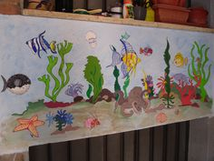 murale pesci